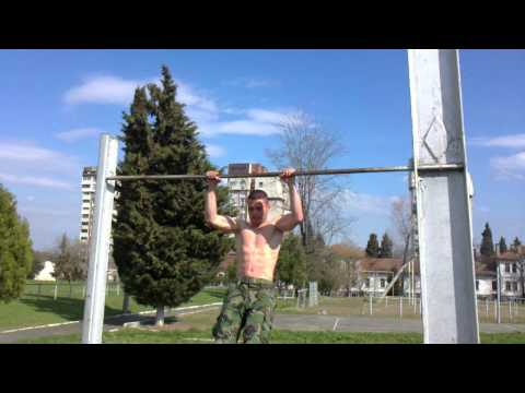 Bulgarian army soldier physical exercise - 1