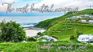 The Best Campgrounds at the Spanish Atlantic Coast | Camino del Norte accomodations