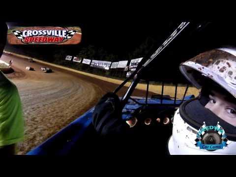 #76 Jesse Lowe - Sportsman - 9-9-16 - Crossville Speedway - In-Car Camera