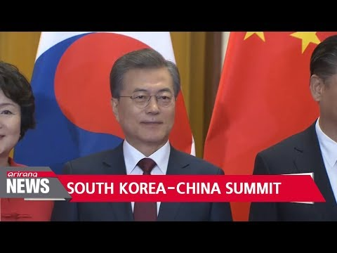 Leaders of South Korea, China agree on basic principles over N. Korean nukes; Xi asks Moon to