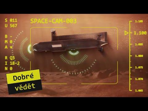 Space cam #03 - Poplujem metanem?