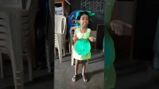 Speech about kiwi fruit by LKG student my daughter Pranamya