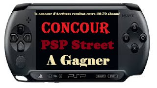 Concours psp a gagner