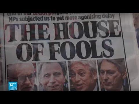 -جنون وحماقة-..عناوين الصحف البريطانية بشأن اتفاق البريكسيت  - نشر قبل 3 ساعة