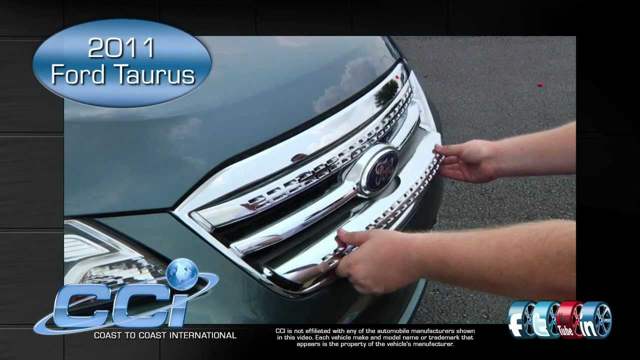 Ford Taurus 2011 Trim Package Youtube