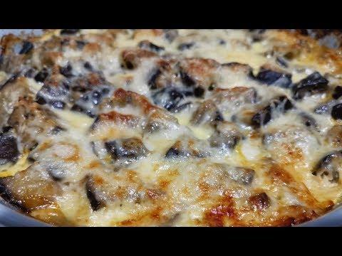 gratin-aubergines-à-la-viande-hachée---comment-faire-un-super-gratin-au-goût-de-pizza,-rapide-facile