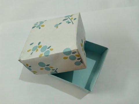 DIY paper gift box 2019 | Easy birthday crafts