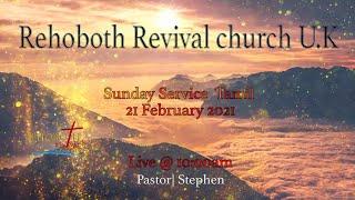 Sunday Service Tamil ၂၁ ရက်ဖေဖော်ဝါရီ ၂၁ ရက် (Rehoboth Revival Church Tamil Tamil)