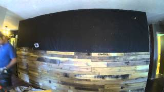 Pallet Wall Timelapse