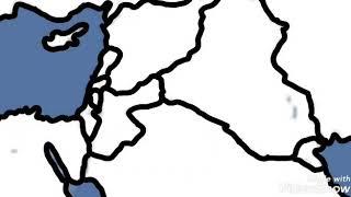 Iraq Vs Syria And Iran (NOT REALISTIC)