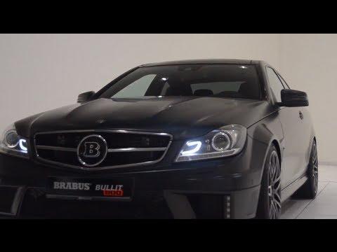 2013 Brabus Mercedes C Class 6 3 litre twin turbo V12 Bullit Coupé 800  Commercial Carjam TV HD