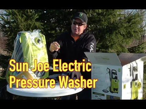 Sun Joe Electric Pressure Washer Unboxing And Assembly Spx3000 Youtube