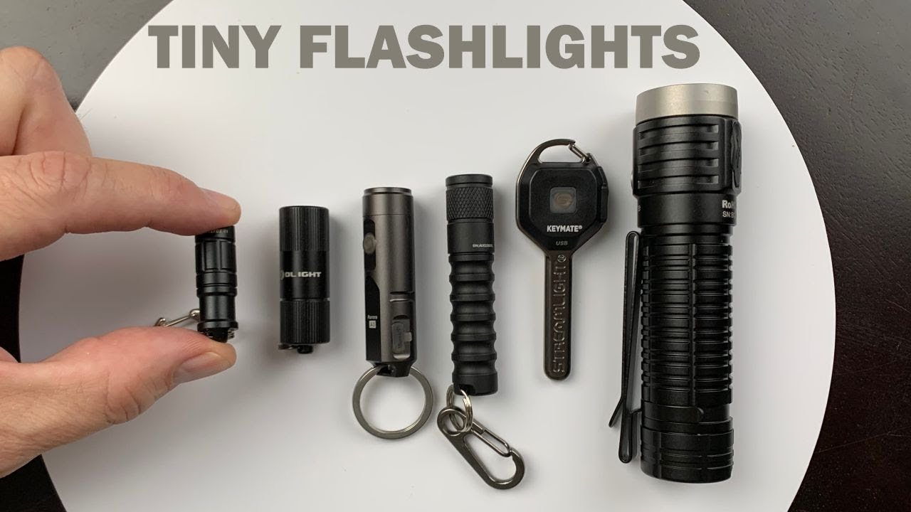 Testing 6 Tiny Flashlights!