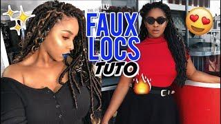 TUTO : CROCHET FAUX LOCS EN 1 HEURE !! FACILE 🙌🏼💁🏽♀️