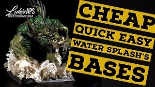 Baixar Miniature Water And Swamp Bases For Your Warhammer 40k Bases The Easy & Cheap Way