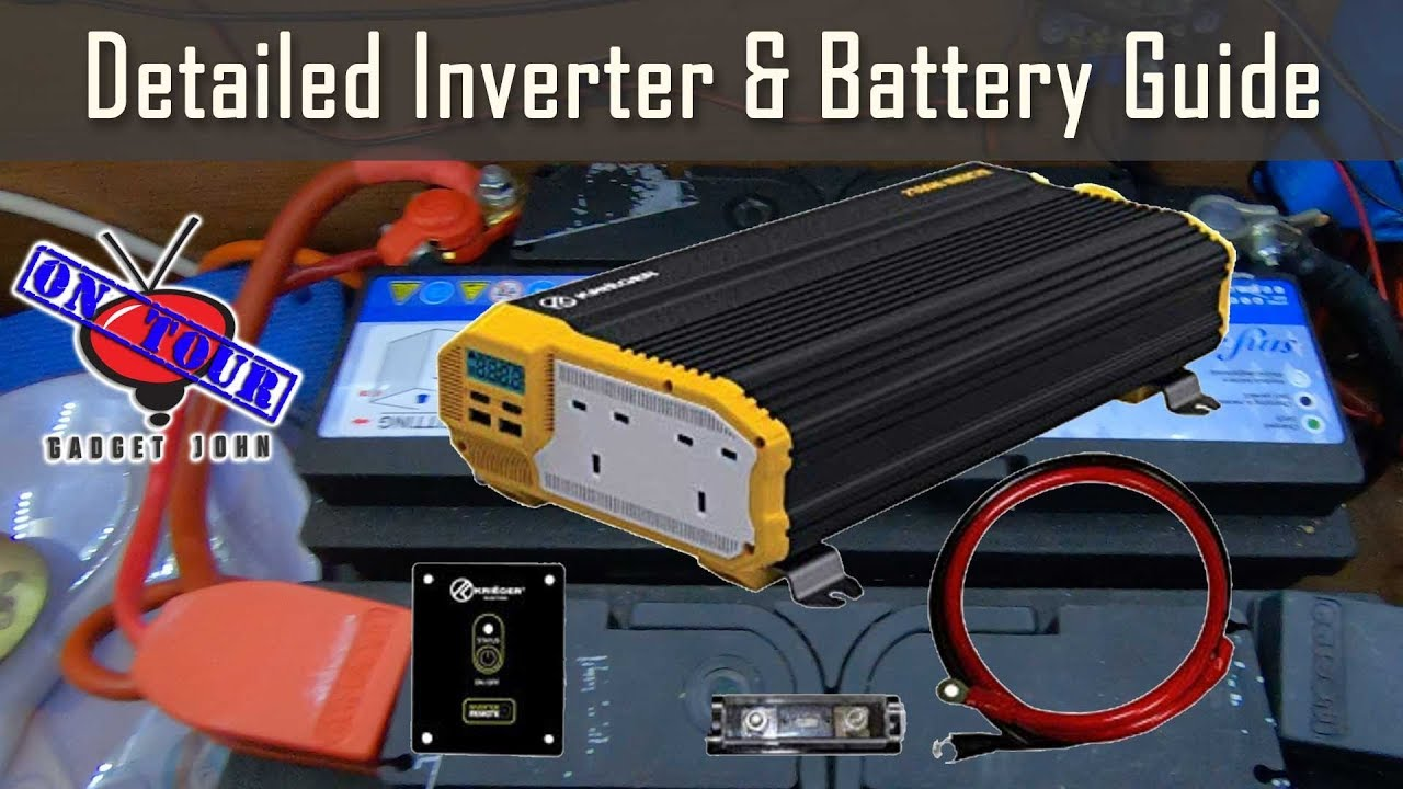 Detailed 12v Inverter Amp Battery Wiring Guide