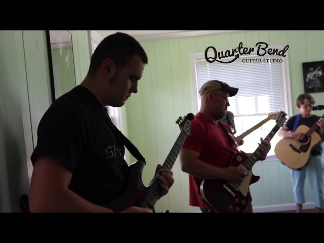 Open Jam - Edwin Takes a solo- Quarter Bend Guitar Studio