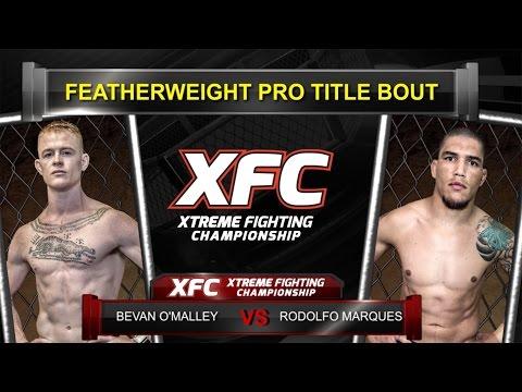 XFC 30 - Bevan O'Malley vs Rodolfo Marques