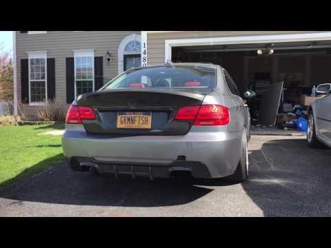 BMW E92 335i N54 No Mufflers Exhaust 2STEP JB4