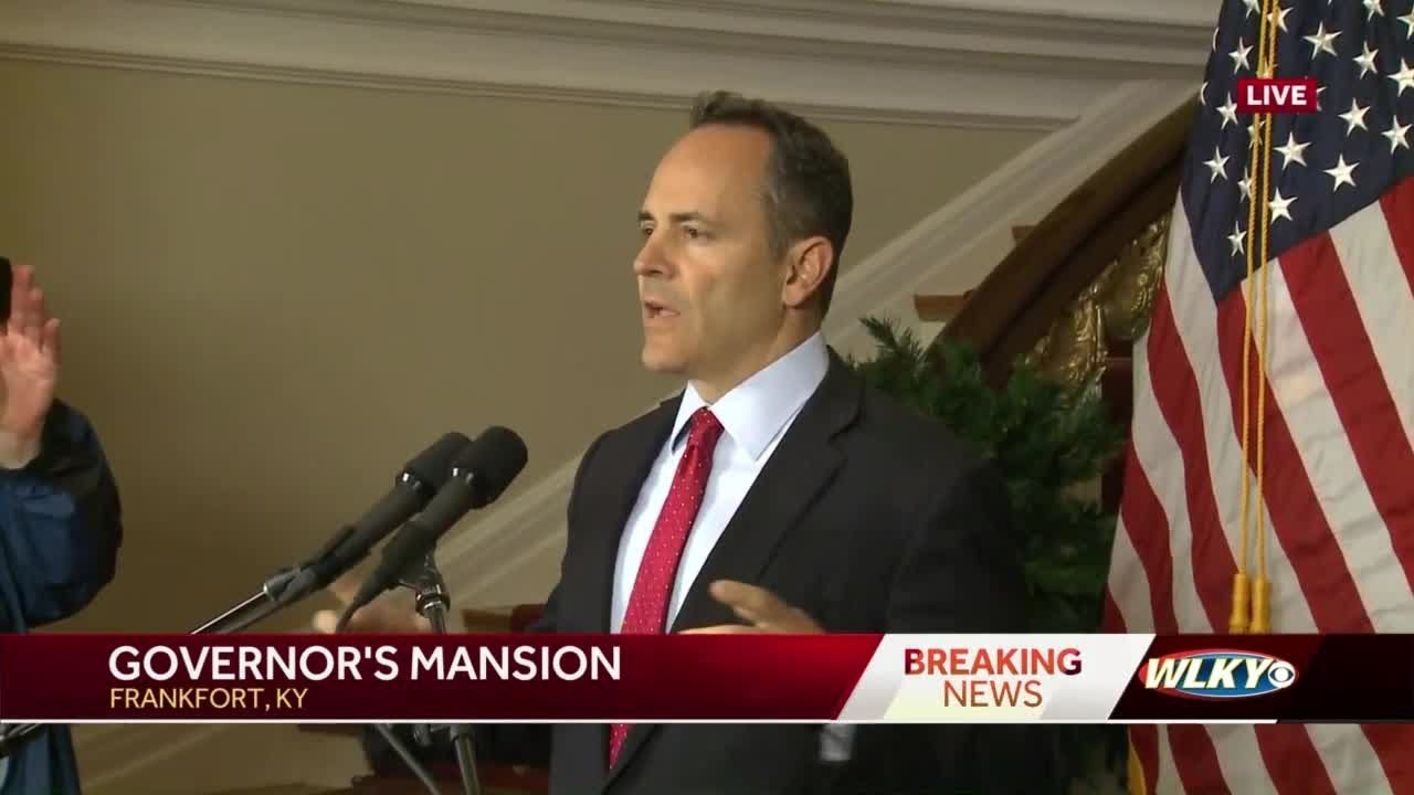 Bevin officially requests election recanvass in Kentucky governor race