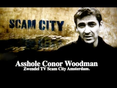 Conor Woodman's Scamcity Amsterdam is fake !!