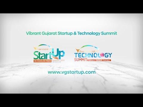 Vibrant Gujarat Startup Summit 2018