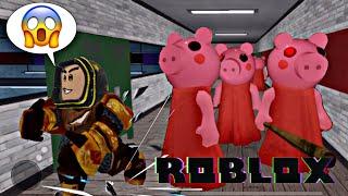 FUGINDO DA FERA PIGGY ROBLOX GAMEPLAY PETER GAMES PETER TOYS