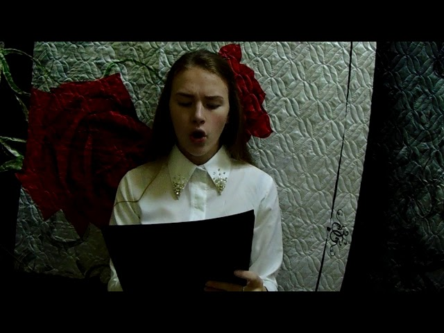 Изображение предпросмотра прочтения – АннаЖелтоногова читает произведение «Стихотворение в прозе Роза» И.С.Тургенева