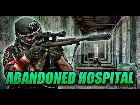 ABANDONED HOSPITAL SNIPER: Paintball sniper!