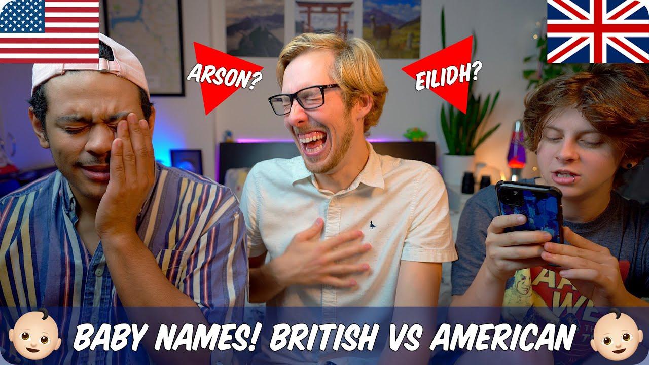 Weird & Popular Baby Names | British vs American | Evan ...