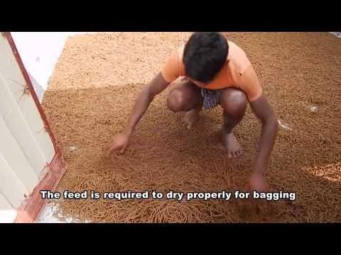 কম খরচে তৈরি করুন ভাল মানের মাছের খাবার/ Semi Auto Feed Mill- How To Prepare Quality Fish Feed