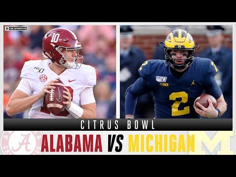Citrus Bowl Expert Picks: #14 Michigan Vs #13 Alabama | CBS Sports HQ