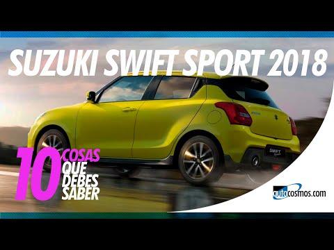 Suzuki Swift Sport 2018 - 10 Cosas que debes saber | Autocosmos de Chile