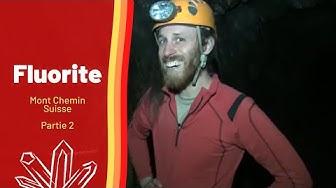 Minéraux & prospection - la fluorite du Mt Chemin, Valais, Suisse - part 2/2