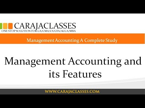 What is Management Accounting (Managerial Accounting Tutorial #1)