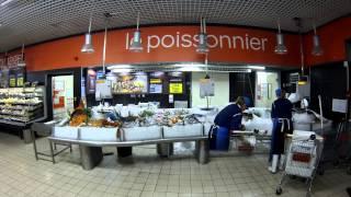 Carrefour Market Le Lavandou Rayon Poissonnerie