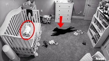 Baby Girl Was Acting Strange, So Her Mother Planted Hidden Camera And Captures A Nightmare