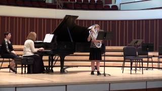 Hungarian Melodies by Vincent Bach- Kendra Luedke on Euphonium