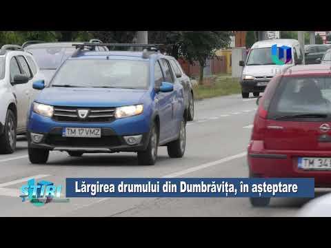TeleU: Lărgirea drumului din Dumbrăvița, în așteptare
