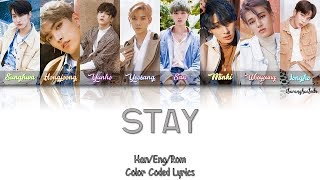 Ateez – Stay  Color Coded Han|rom|eng