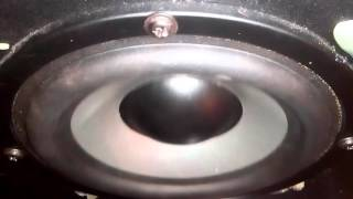 50 Watt Speedlink Veos Gravity Subwoofer excursion