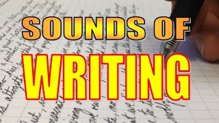 Sounds of Writing - ASMR
