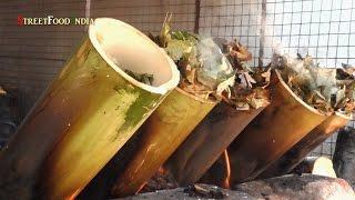 OIL LESS BAMBOO RICE BIRYANI -  Bamboo Chicken Biryani - Healthy Food