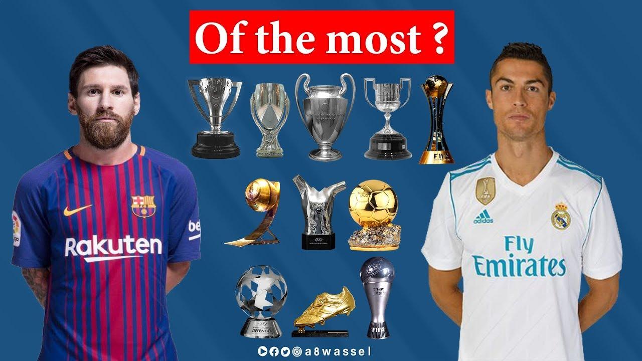 47c8effb181 Cristiano Ronaldo vs Lionel Messi THE GOALS, AWARDS, TITLES AND STATISTICS