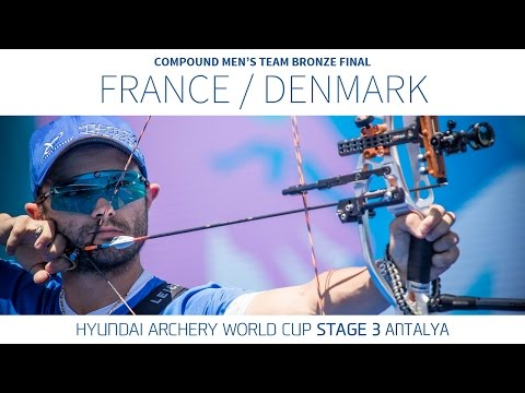France v Denmark – Compound Men's Team Bronze Final | Antalya 2016