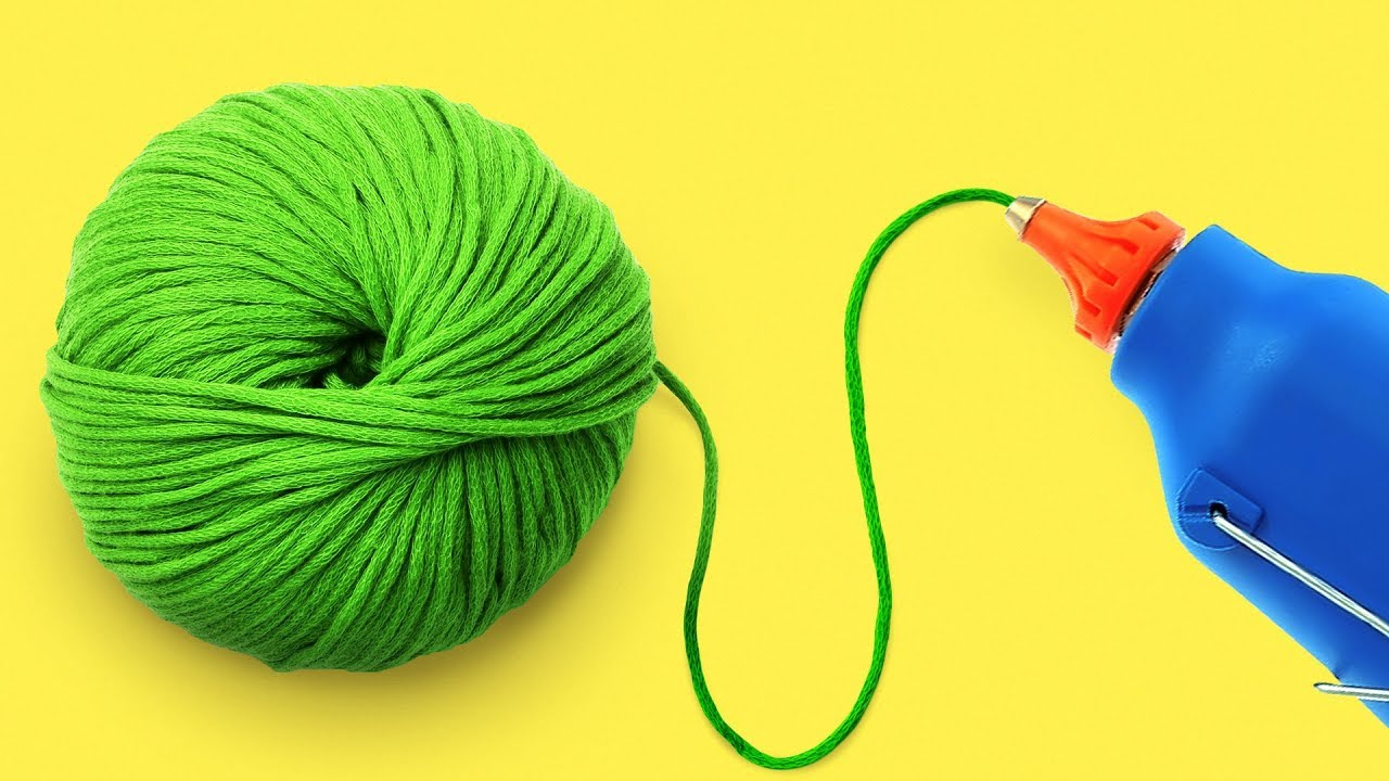 25 Crafting Yarn Crafts And Ideas Youtube