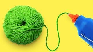 25 Crafting Yarn Crafts And Ideas