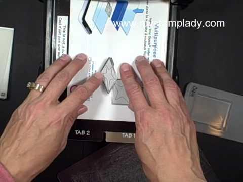 Designer Frames Embossing Folder for the Big Shot