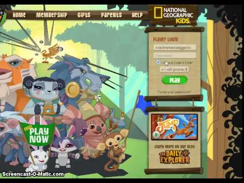 Animal Jam Membership Codes - Lessons - Tes Teach