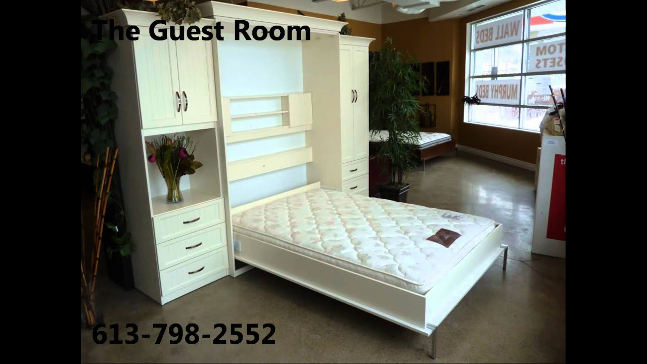The guest room wall beds ottawa youtube the guest room wall beds ottawa amipublicfo Image collections
